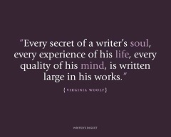 virginia woolf, quote, writing, writer, writer's digest