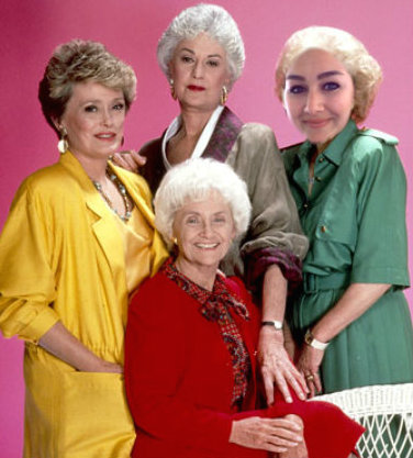 golden girls, bea arthur, betty white, stay golden, thank you for being a friend, humor, jen and tonic